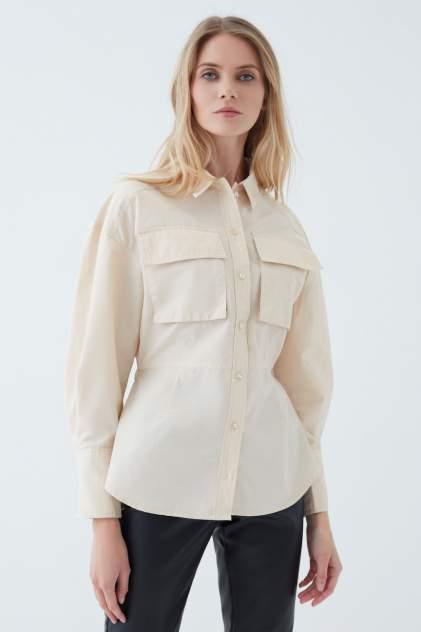 Женская рубашка ZARINA 1123112312, бежевый