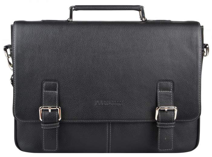Портфель мужской Franchesco Mariscotti 2-785 черный