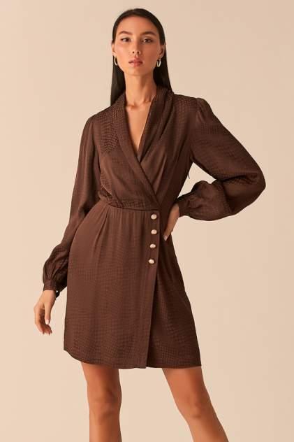 Платье-пиджак женское LOVE REPUBLIC 359032552 коричневое 40-170