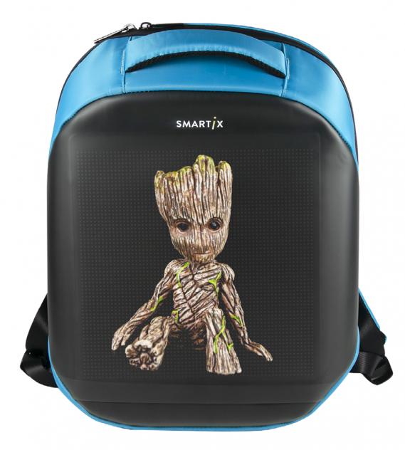 Рюкзак унисекс Smartix LED 4S PLUS SM0010041013 синий