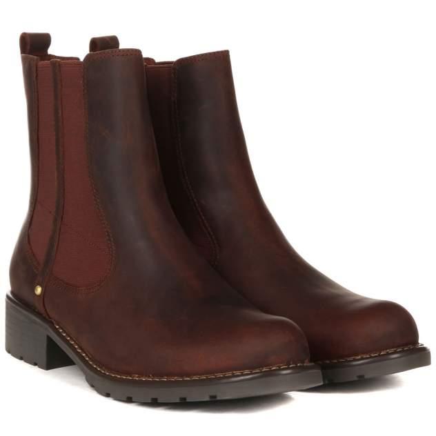Ботинки женские Clarks Orinoco Hot 26138171 коричневые 37 EU