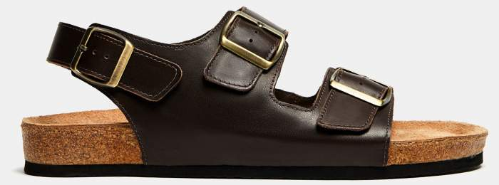 Мужские сандалии Ralf Ringer 080002, коричневый