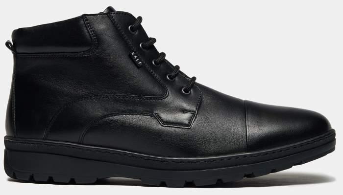 Ботинки мужские Ralf Ringer 83307 черные 42 RU