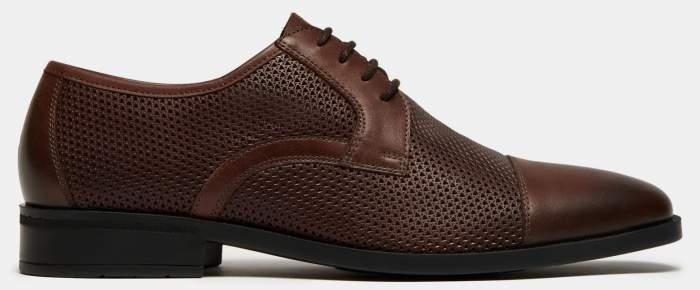 Туфли мужские Ralf Ringer 140105 коричневые 42 RU