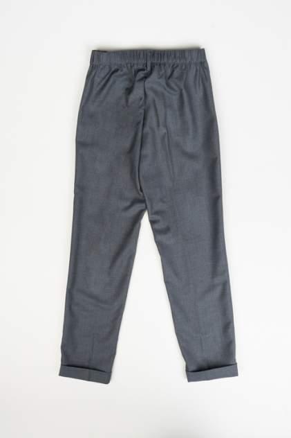 Брюки для девочки Button Blue, цв.серый, р-р 128