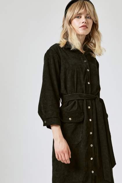 Платье-рубашка женское Vittoria Vicci 1801-9196-2 черное XL