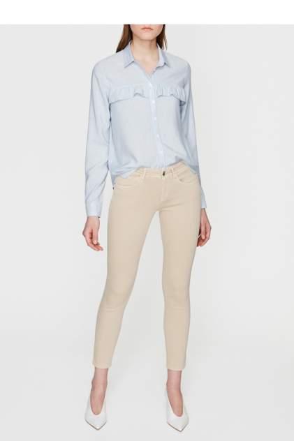 Рубашка женская Mavi 121748-25711 синяя L