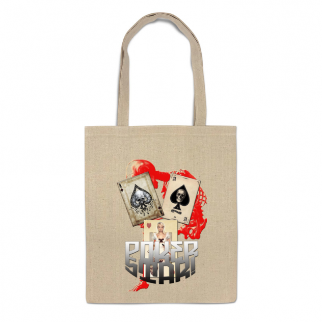 Сумка-шоппер Printio Звезда покера