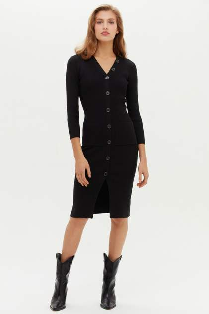 Повседневное платье женское LOVE REPUBLIC 1151344574 черное XS