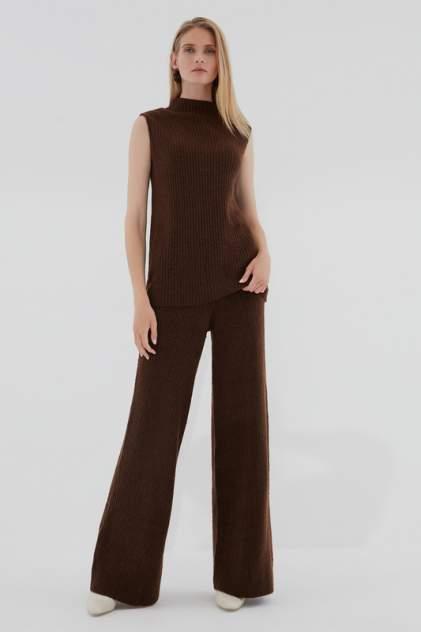 Брюки женские ZARINA 420637747 коричневые S