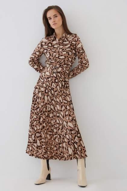 Женское платье ZARINA 0421006506, коричневый