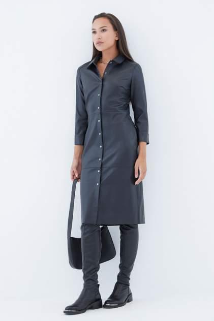 Платье-рубашка женское ZARINA 421203501 черное 88