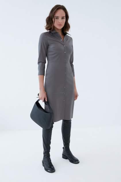 Платье-рубашка женское ZARINA 421203501 серое 84