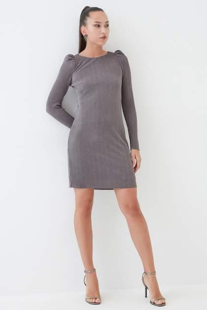 Повседневное платье женское ZARINA 422505505 серое 100