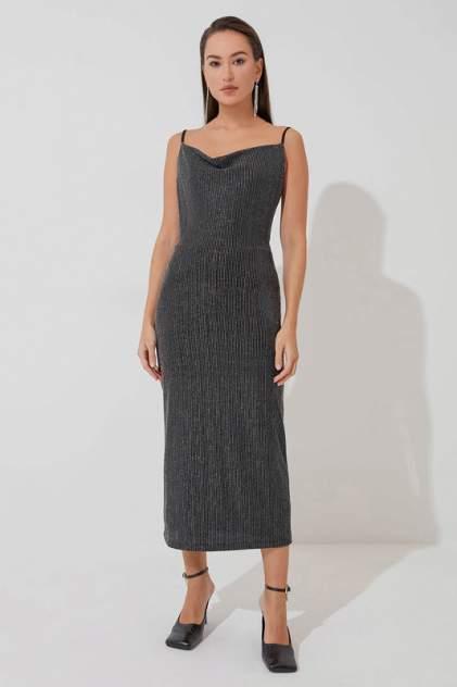 Платье-комбинация женское ZARINA 422501501 черное L