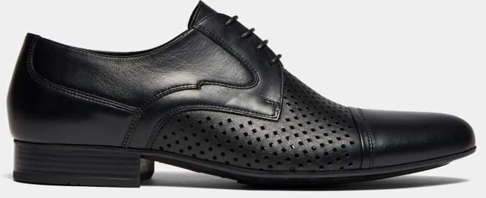 Туфли мужские Ralf Ringer 558117 черные 45 RU