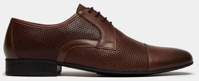 Туфли мужские Ralf Ringer 558118 коричневые 42 RU
