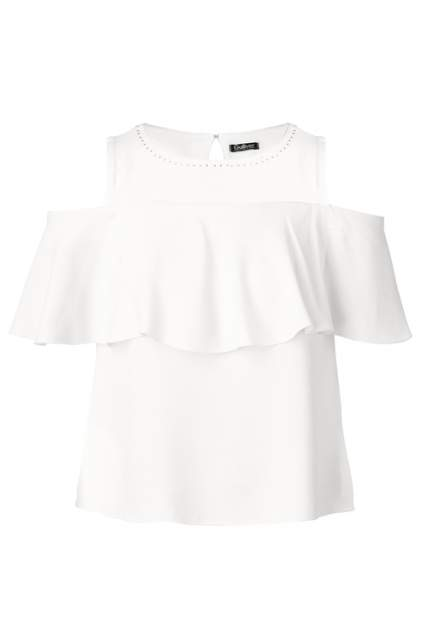 Блузка для девочки Gulliver, цв.белый, р-р 140