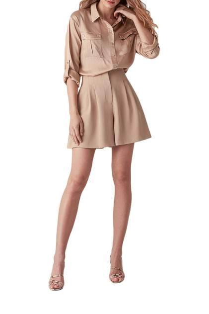 Блуза женская LOVE REPUBLIC 2550890356 бежевая 46