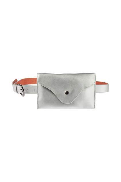 Поясная сумка женская Vita Pelle 20150SUM1503 серебристая