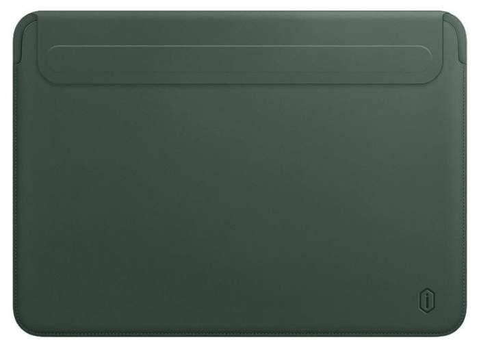 Чехол WIWU Skin New Pro 2 Leather Sleeve для MacBook Pro 16 Green