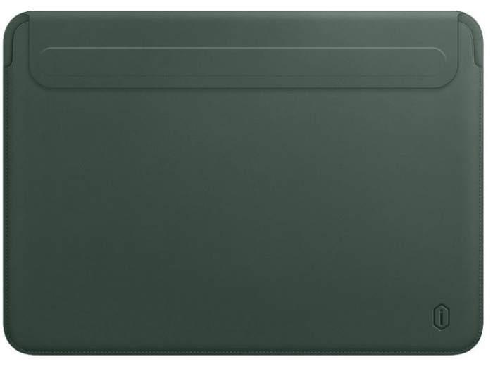 Чехол WIWU Skin New Pro 2 Leather Sleeve для MacBook Pro 13/Air 13 2018 Green