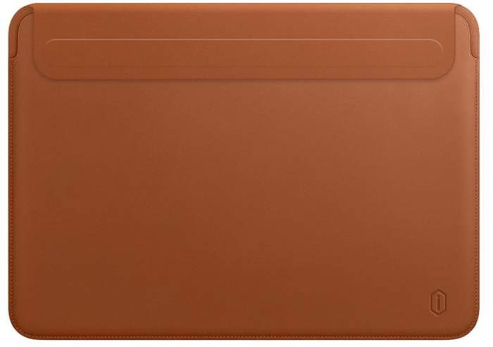 Чехол WIWU Skin New Pro 2 Leather Sleeve для MacBook Pro 13/Air 13 2018 Brown