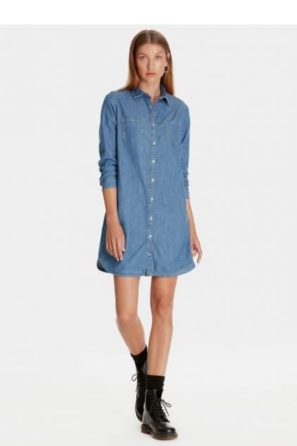 Платье-рубашка женское Mavi 130656-27008 синее L
