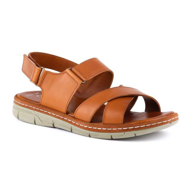Сандалии мужские CABANI SHOES G04 8031 коричневые 43 RU