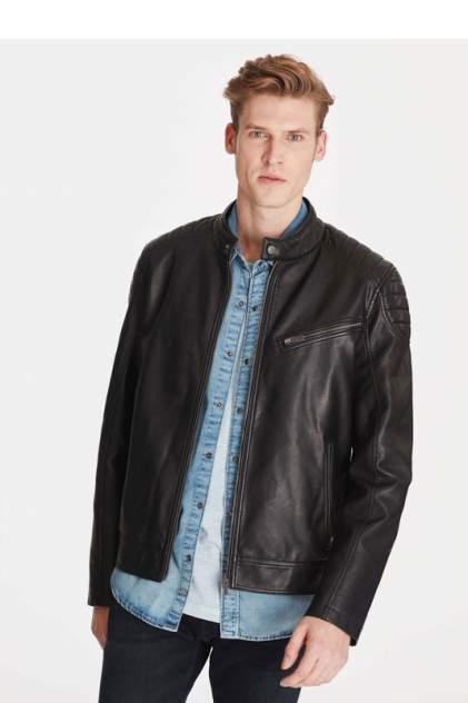 Кожаная куртка мужская Mavi 010238-900 черная XL