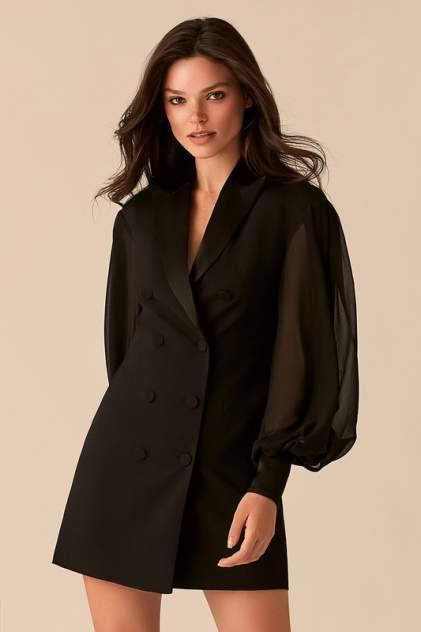 Платье-пиджак женское LOVE REPUBLIC 358206502 черное 40