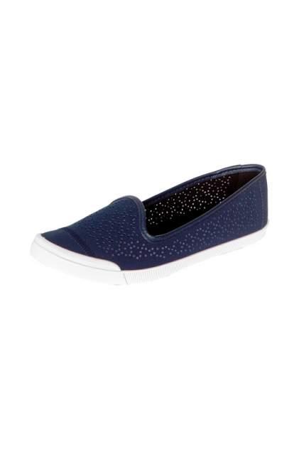 Слипоны женские Moleca 234-12-BBR синие 39 RU