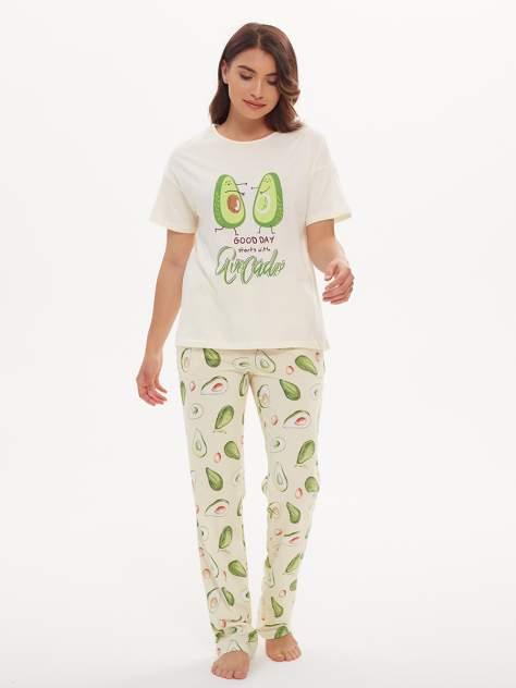 Пижама женская Jolie Femme J067/036/ав разноцветная 48