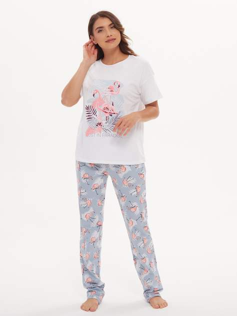 Пижама Jolie Femme J067/036/фл, разноцветный