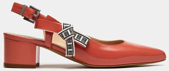 Туфли женские Ralf Ringer 697103 красные 37 RU