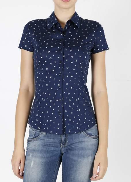 Рубашка женская DELFIN GD30300110 синяя S