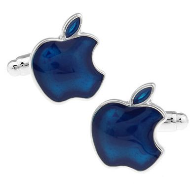 Запонки мужские 2beMan ZP131 синие