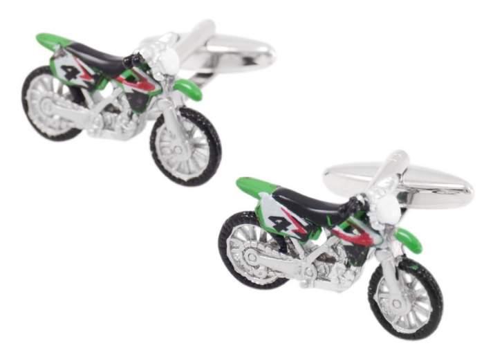 Запонки мужские 2beMan ZP154 зеленые