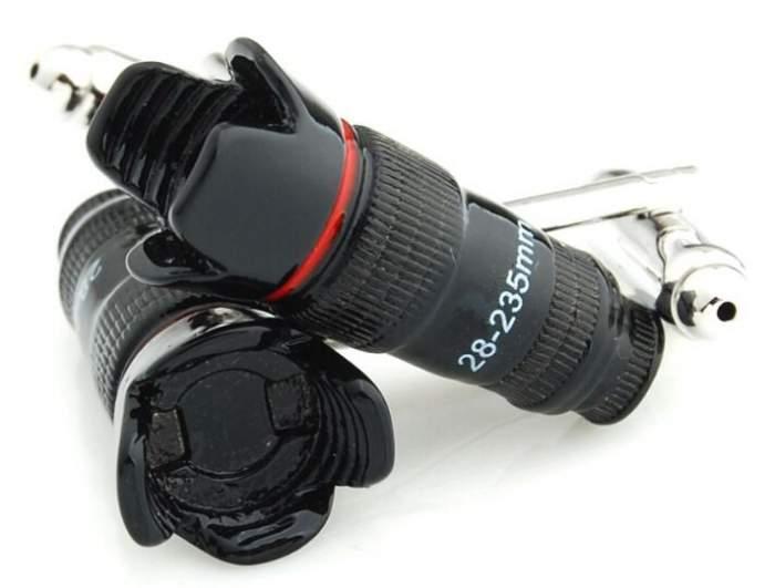 Запонки мужские 2beMan ZP203 черные