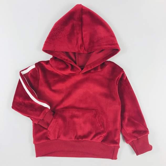 Комплект одежды велюровый KIDS TALES бордовый р.92