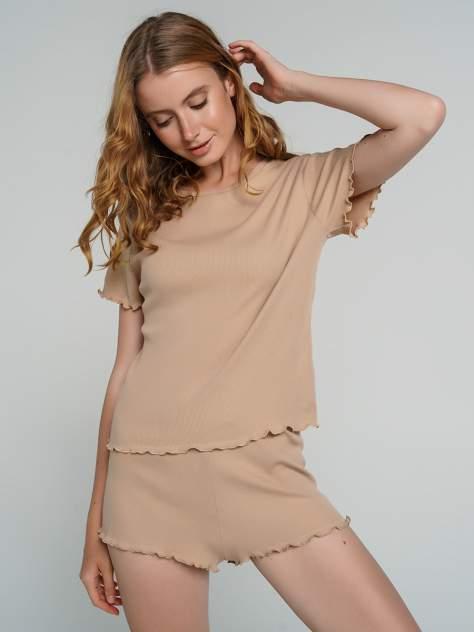 Пижама женская ТВОЕ 72325 бежевая XL