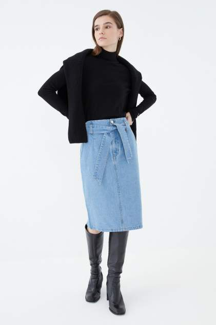 Женская юбка ZARINA 1123443243, голубой