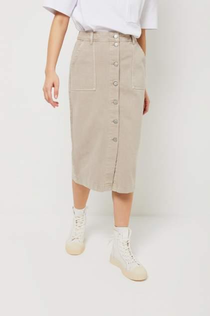 Женская юбка Sela 1804011910, бежевый