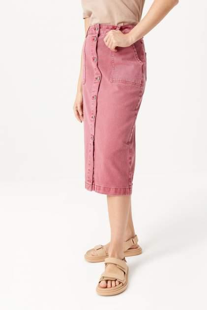 Юбка женская Sela 1804011910 розовая 46