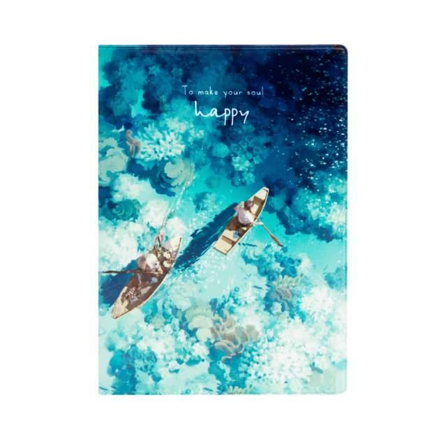 Обложка для паспорта унисекс Kawaii Factory Лодки