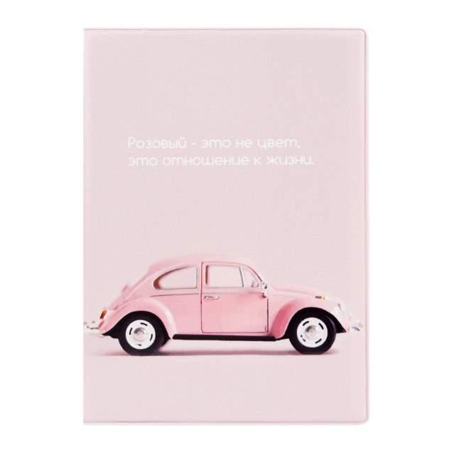 Обложка для автодокументов унисекс Kawaii Factory Жизнь в розовом