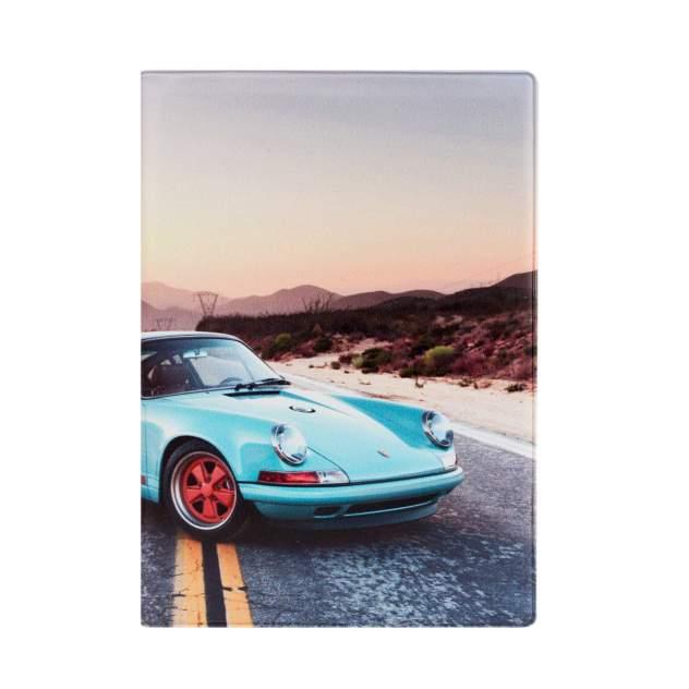 Обложка для автодокументов унисекс Kawaii Factory Porsche blue