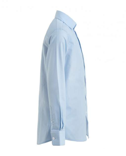 Голубая рубашка в горошек Gulliver цв. голубой 122