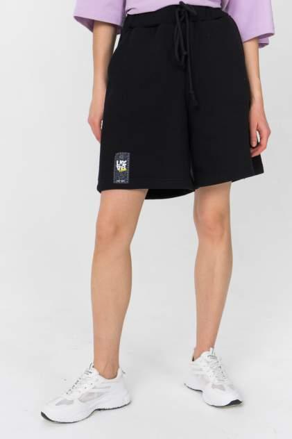 Повседневные шорты женские LA URBA PERSON BLC-008 черные 42-44