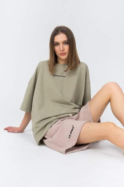 Женские шорты LA URBA PERSON ND-008, коричневый